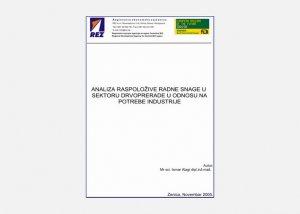 Analiza raspoložive radne snage u sektoru drvoprerade