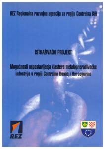 Mogućnosti uspostavljanja klastera metaloprerađivačke industrije 1