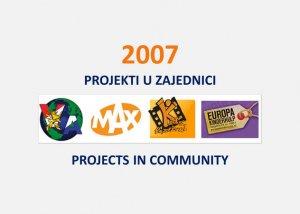 Projekti u zajednici 2007. 19