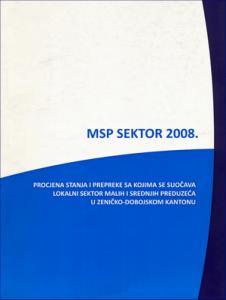 MSP sektor 2008. 1