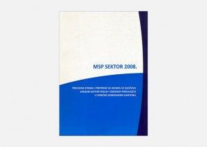 MSP sektor 2008.