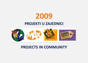Projects in Community 2009 2