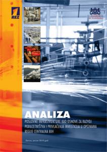 Analiza poslovne infrastrukture kao osnove... 1