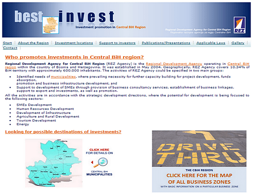 Bestinvest - Support to investing in the Central BiH region 1