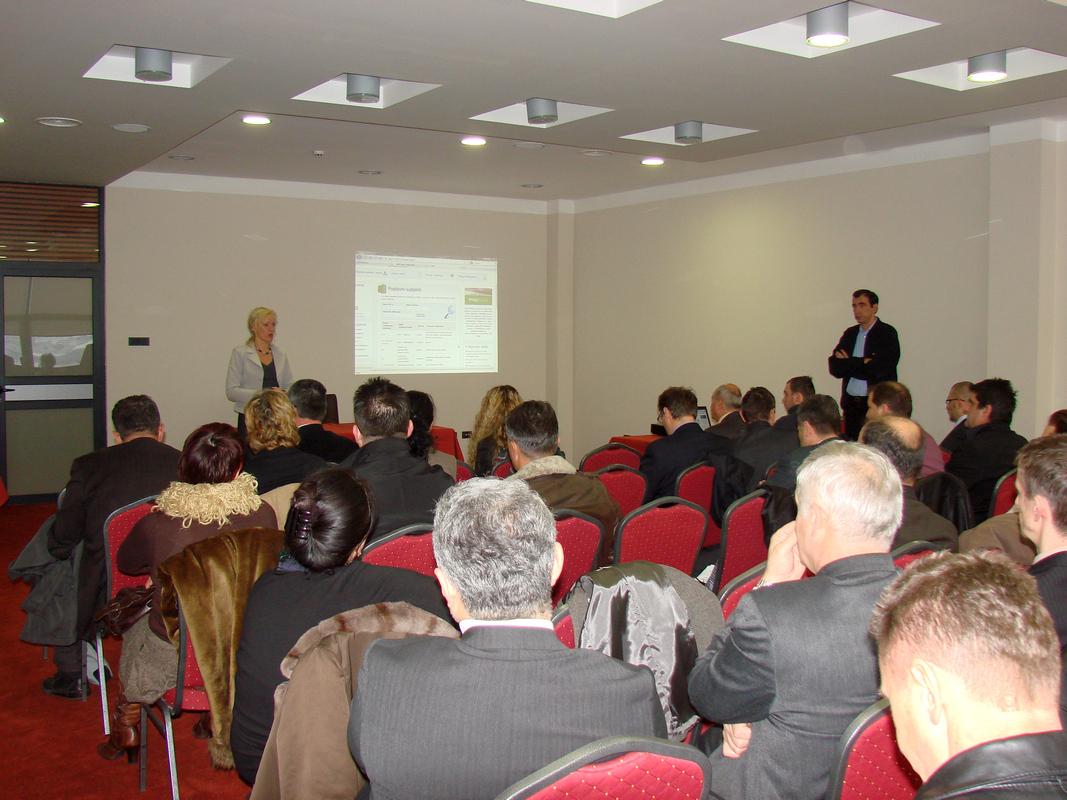 Prezentacija priručnika, poslovnih portala i MEP baze podataka u Vitezu