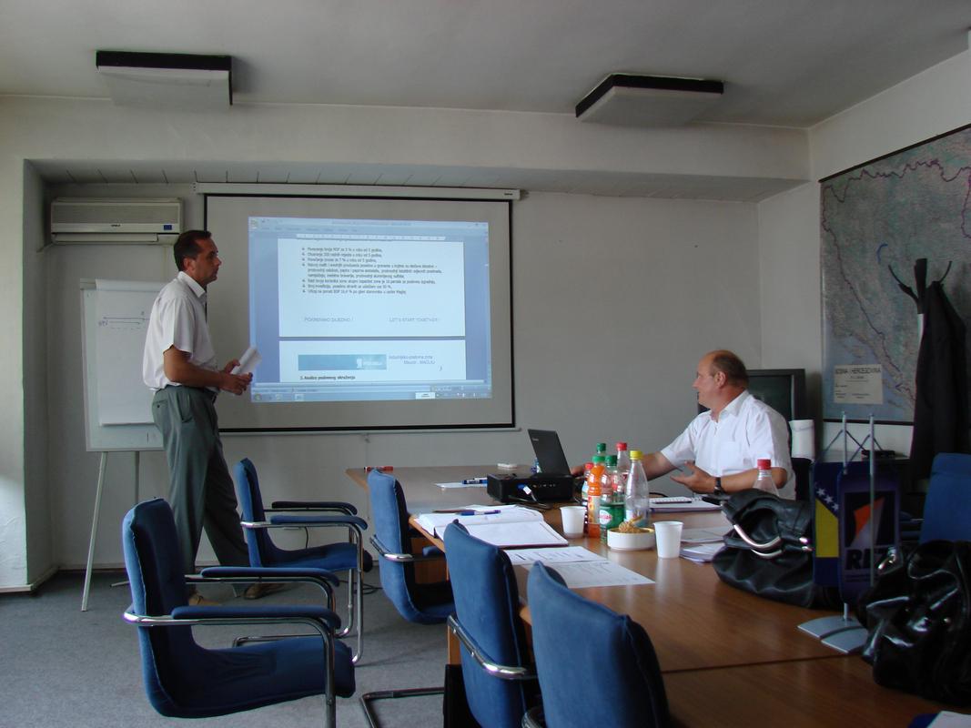 SET Program - Prezentacija marketing plana poslovne zone