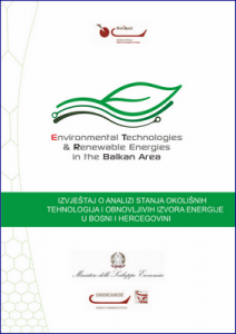 Report on the analysis of environmental technology and renewable energy sector in the Balkan area 1
