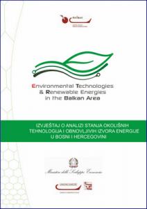 Izvještaj o analizi stanja okolišnih tehnologija... 1