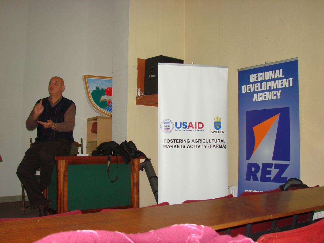 REZ i FARMA u Travniku, oktobar 2012