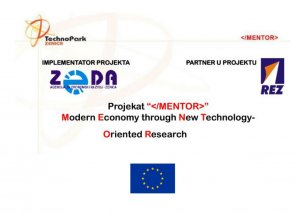 MENTOR - Modern Economy through New Technology-Oriented Research