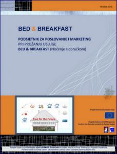 Bed & Breakfast - Podsjetnik za poslovanje i marketing 1