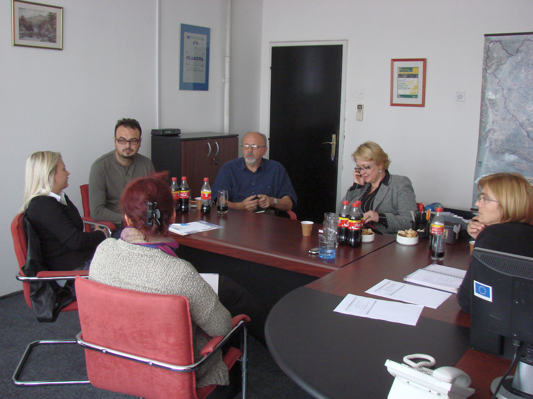 Sastanak REZ Agencije i Lokalnih razvojnih agencija regije CBiH - oktobar 2012