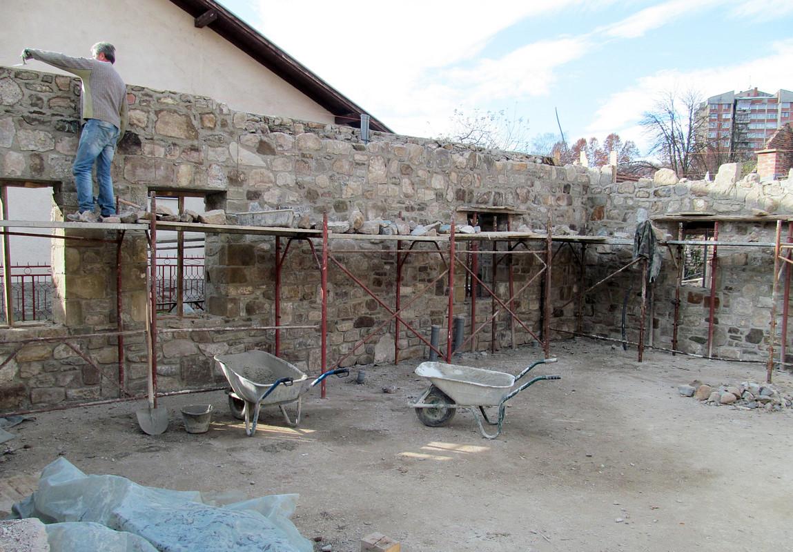 Delibegov han, rekonstrukcija, početak radova