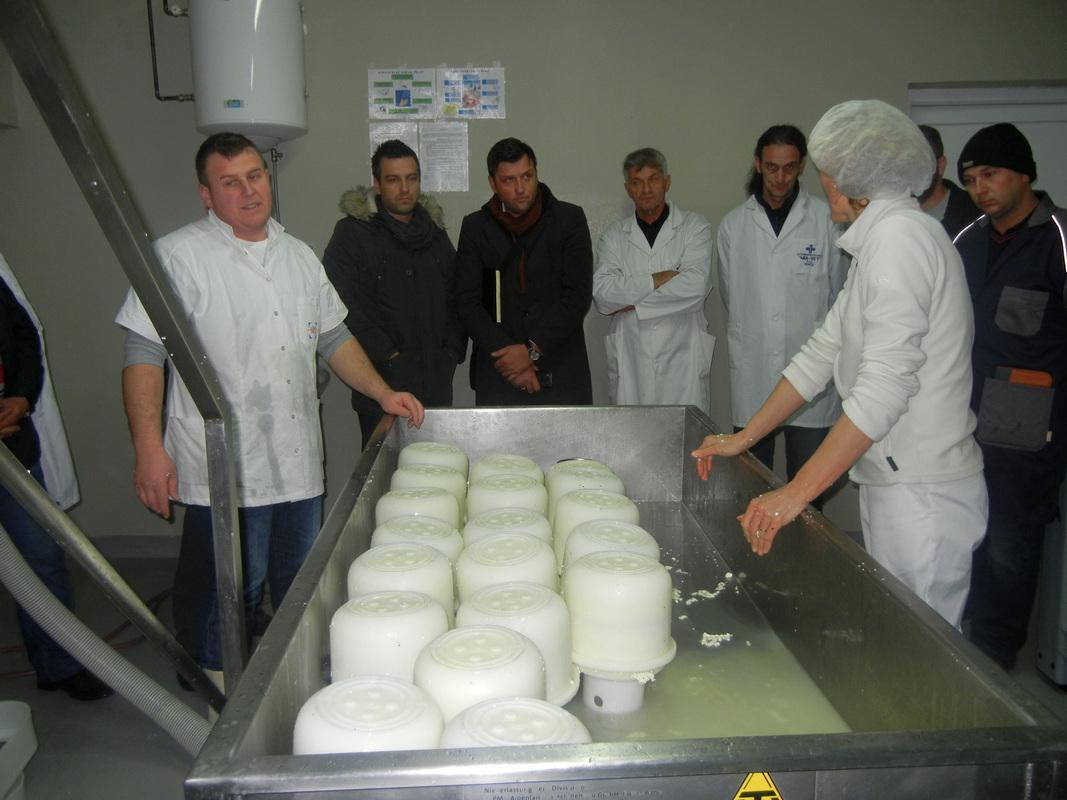 REZ i FARMA u Jelahu, Škola sira, decembar 2012