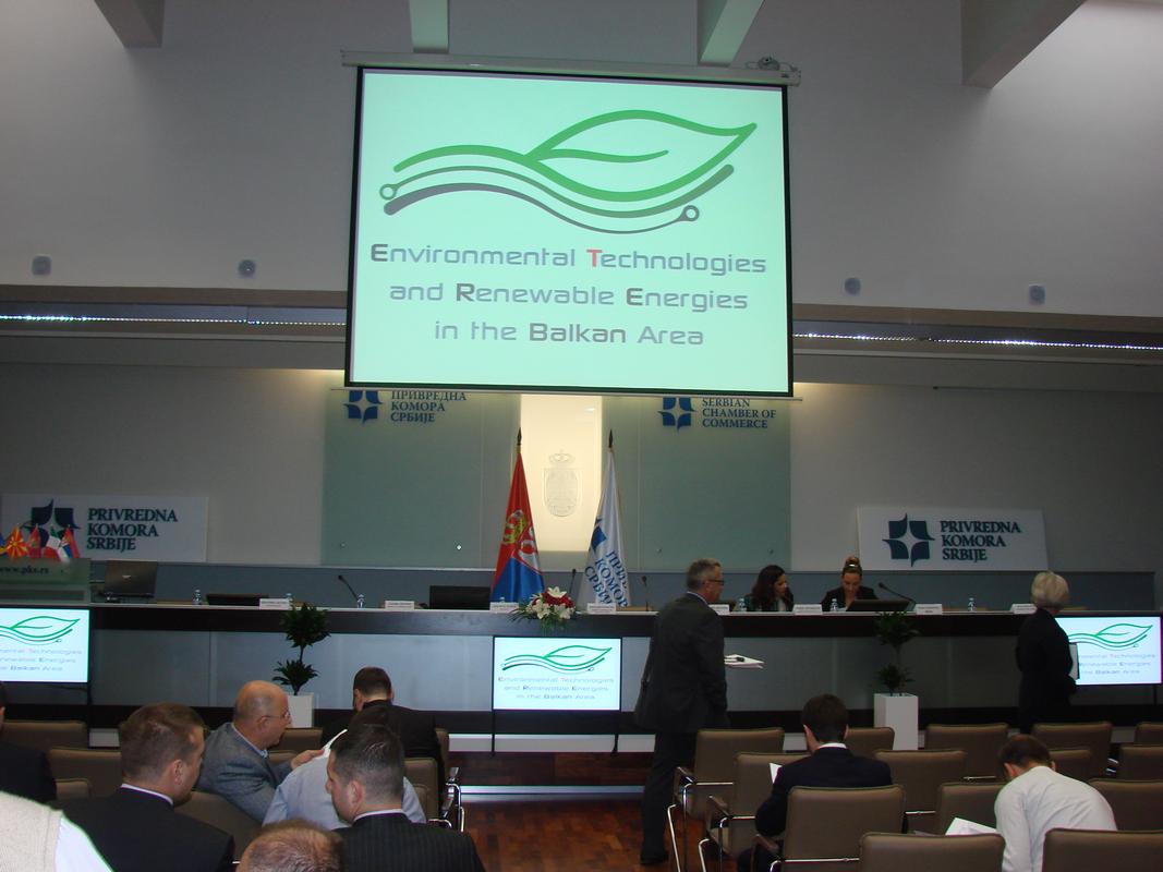 Okolišne tehnologije i obnovljivi izvori energije na području Balkana - Konferencija u Beogradu, Srbija