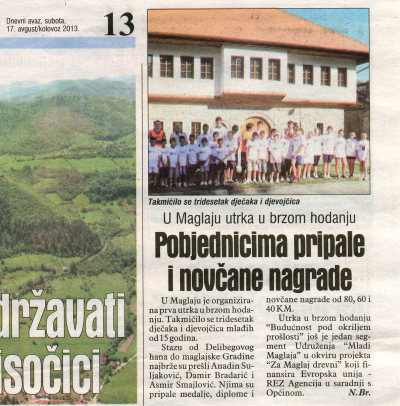 "Winners of the grants from the fund ""Increase the tourist offer of Maglaj"" 4"