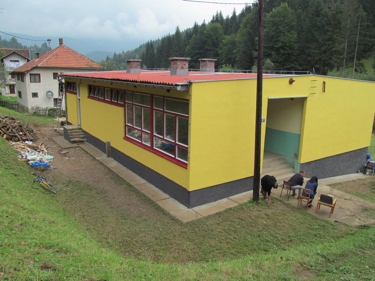 Područna škola Gradina, Karaula-Turbe, Općina Travnik 1
