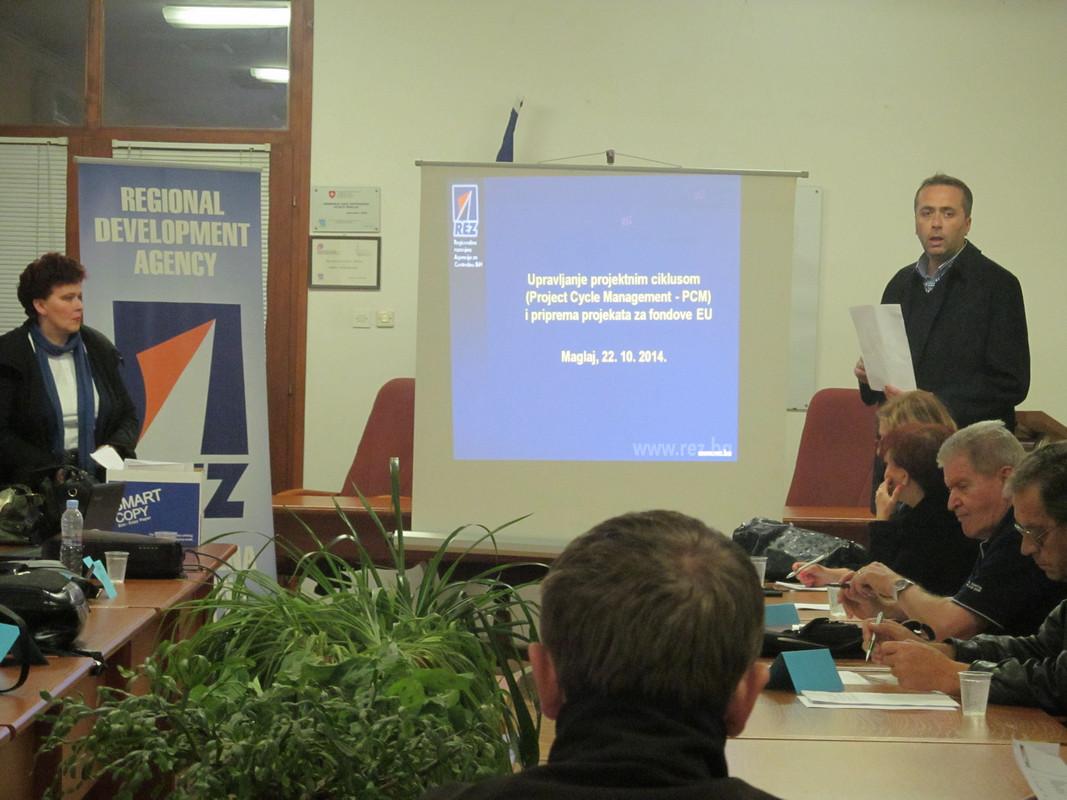 PCM za nevladine organizacije Maglaja - Oktobar 2014