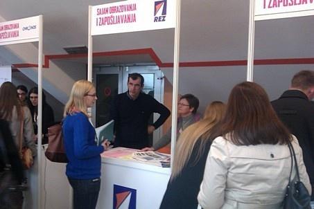 REZ Agencija na sajmu zapošljavanja - Zenica 11-2014