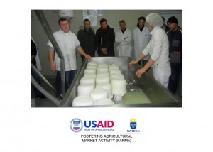 Capacity building of agricultural producers under the USAID/Sida FARMA