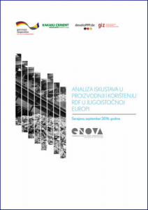 Analysis of experiences in the production and use of Refuse Derived Fuel (RDF) in South East Europe 1