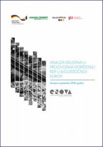 Analiza iskustava u proizvodnji i korištenju RDF‐a u Jugoistočnoj Evropi 1