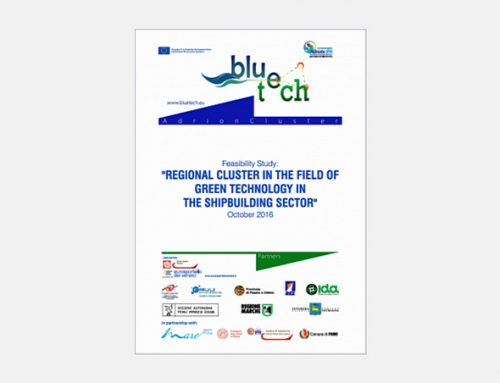 Regional cluster in the field of green technology in the shipbuilding sector