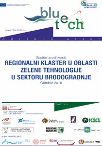 Regionalni klaster u oblasti zelene tehnologije u sektoru brodogradnje 1