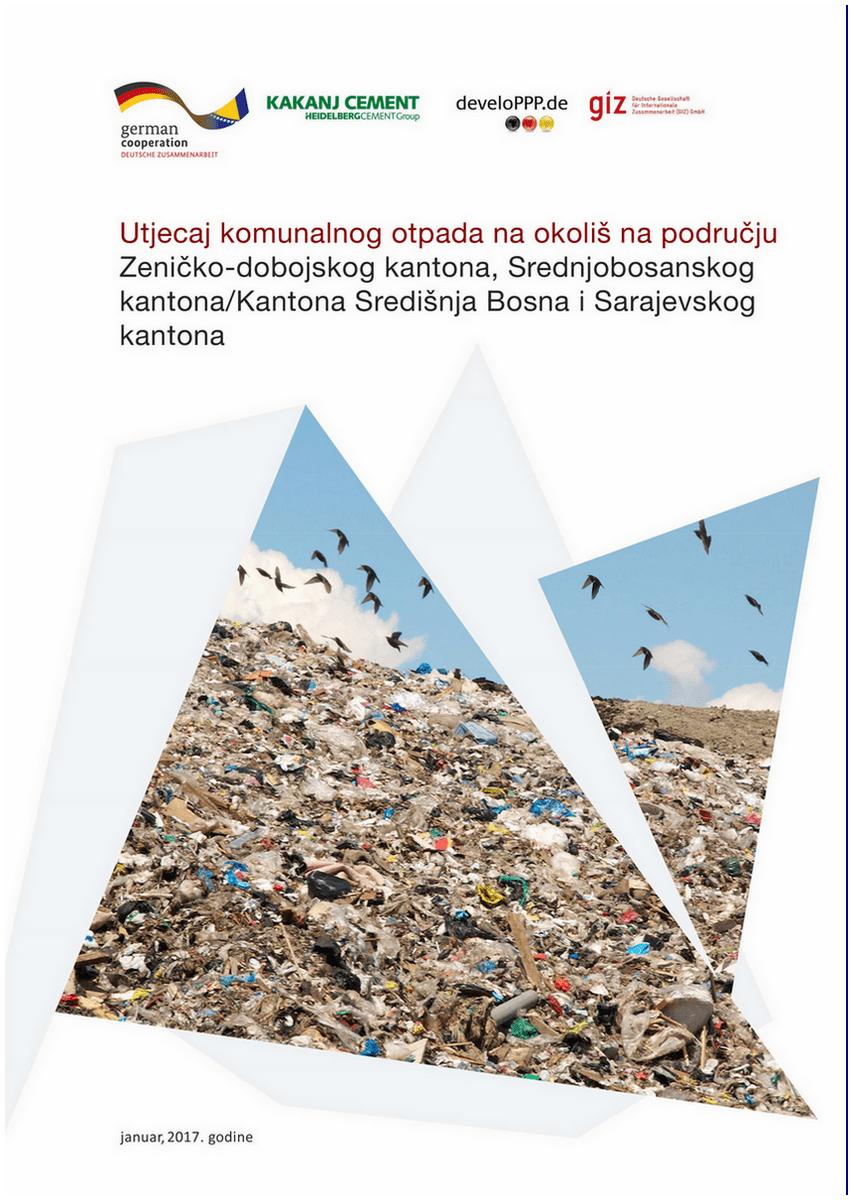 """Urađena publikacija """"Utjecaj komunalnog otpada na okoliš..."""" 1"""