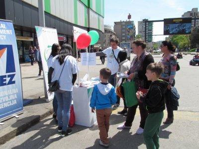 Zenica - Ulična kampanja povodom Svjetskog dana obnovljivih izvora energije
