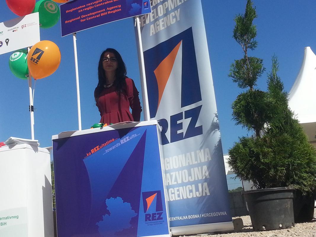 REZ Agencija na sajmu Tešanj 2017.