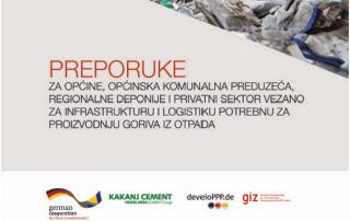 """Urađena publikacija """"Preporuke za općine, općinska komunalna preduzeća..."""" 6"""