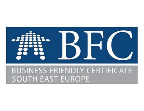 Certifikacija općina s povoljnim poslovnim okruženjem u Jugoistočnoj Europi (BFC SEE)