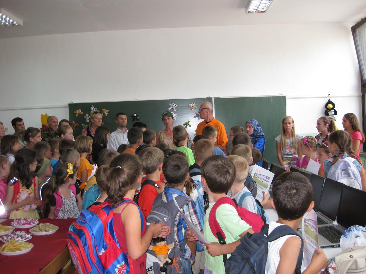 Branch school Han Bila, Municipality of Travnik 1