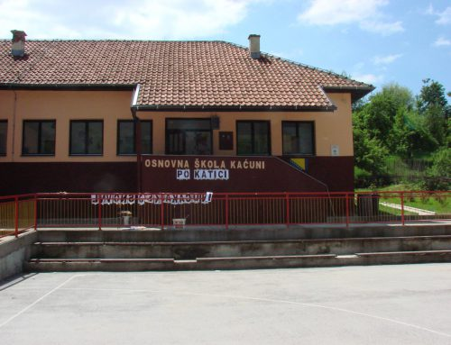 Local school in Katići (Kaćuni), Municipality of Busovača
