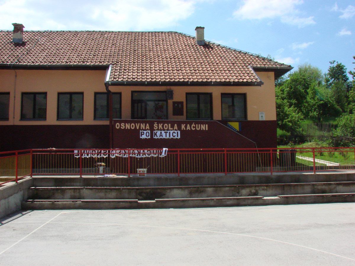 Local school in Katići (Kaćuni), Municipality of Busovača 1