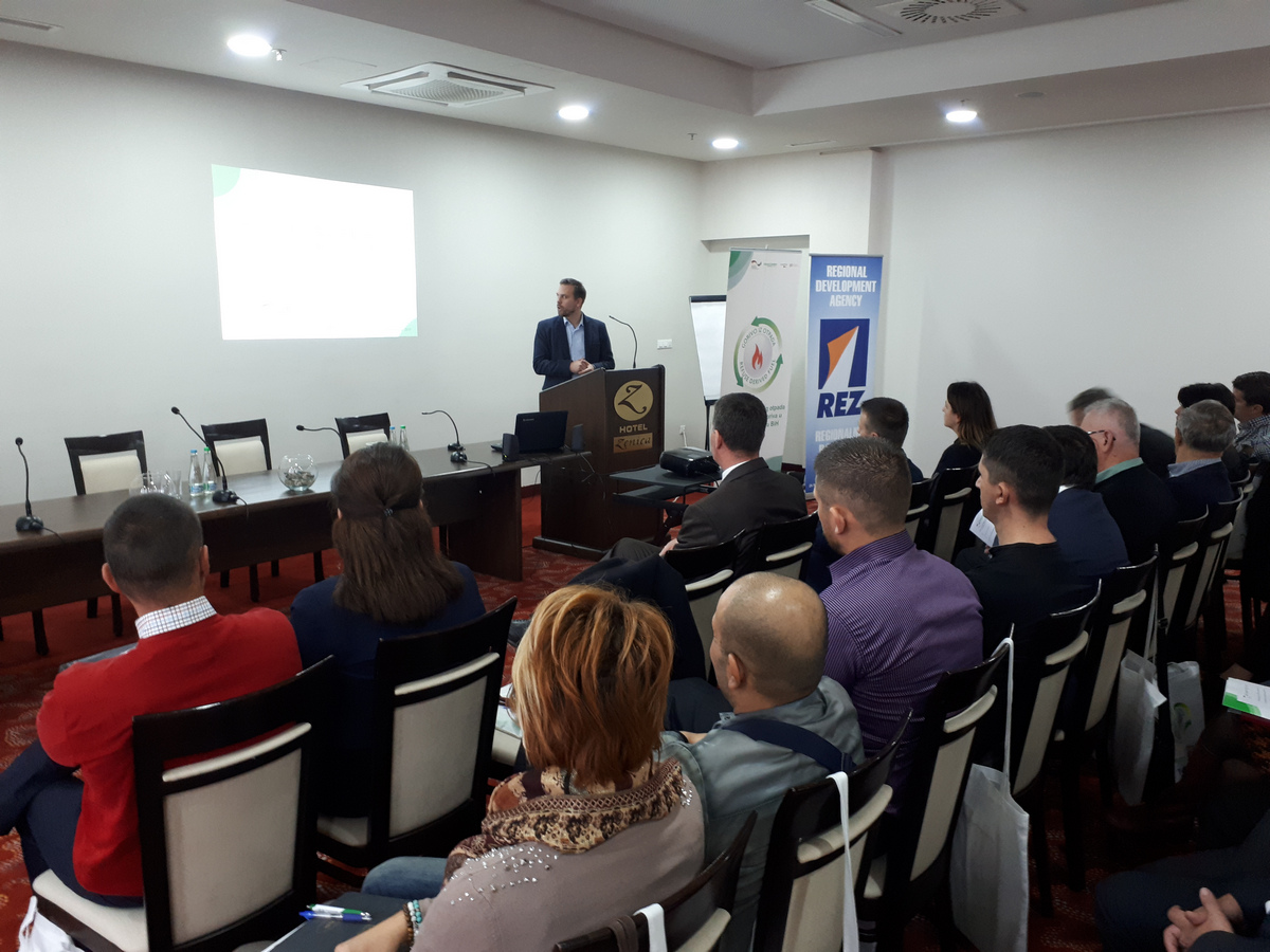 "Zenica: Seminar ""Communal waste as a resource - challenges and opportunities"" 4"