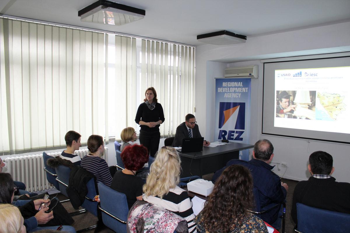 """Održana prezentacija USAID WHAM """"Projekta unapređenja radne snage i većeg pristupa tržištima"""" 1"""