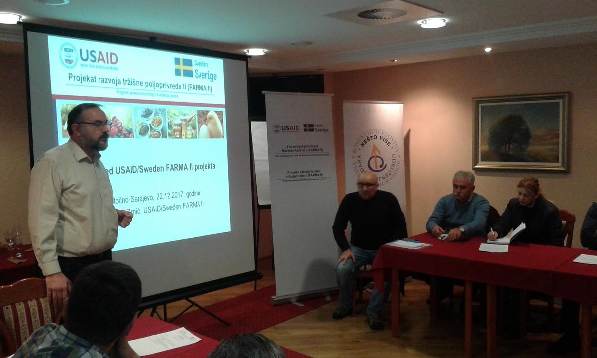 AgMENTOR - Održan B2B sastanak u Istočnom Sarajevu 1