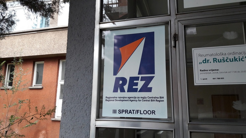 REZ Agency - Main Entrance