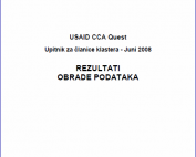 USAID CCA Project - Questionnaire for members of the Woodprocessing and Forestry Cluster of BiH 4