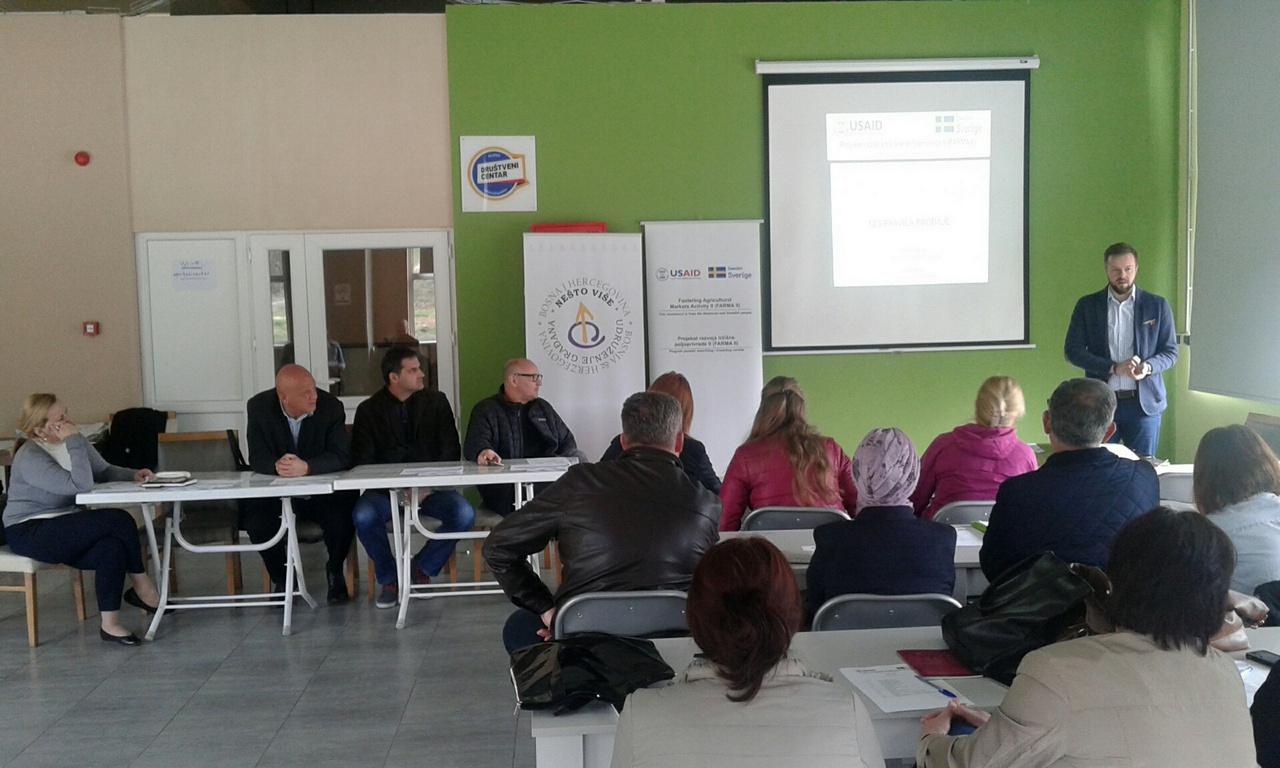 Projekt AgMENTOR - bisnis klinika Olovo, april 2018.