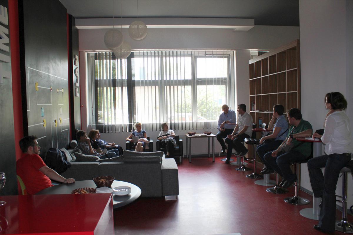 Studijsko putovanje u Osijek - Radni sastanak