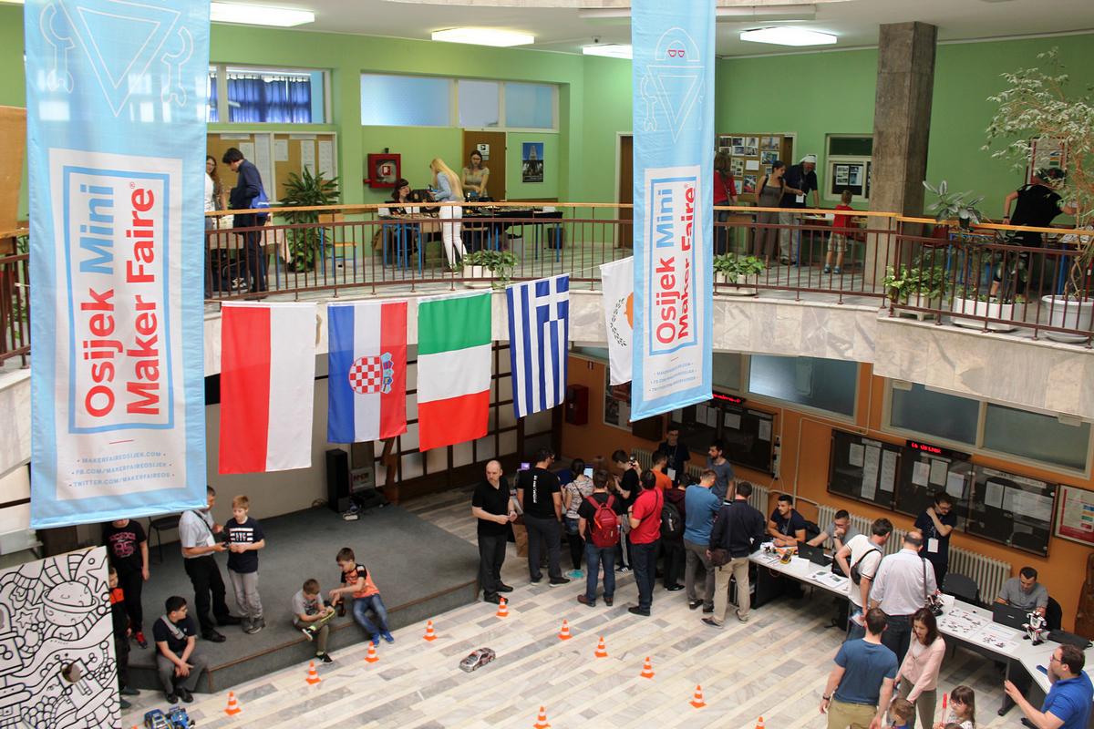 Studijsko putovanje u Osijek - Mini Maker Faire