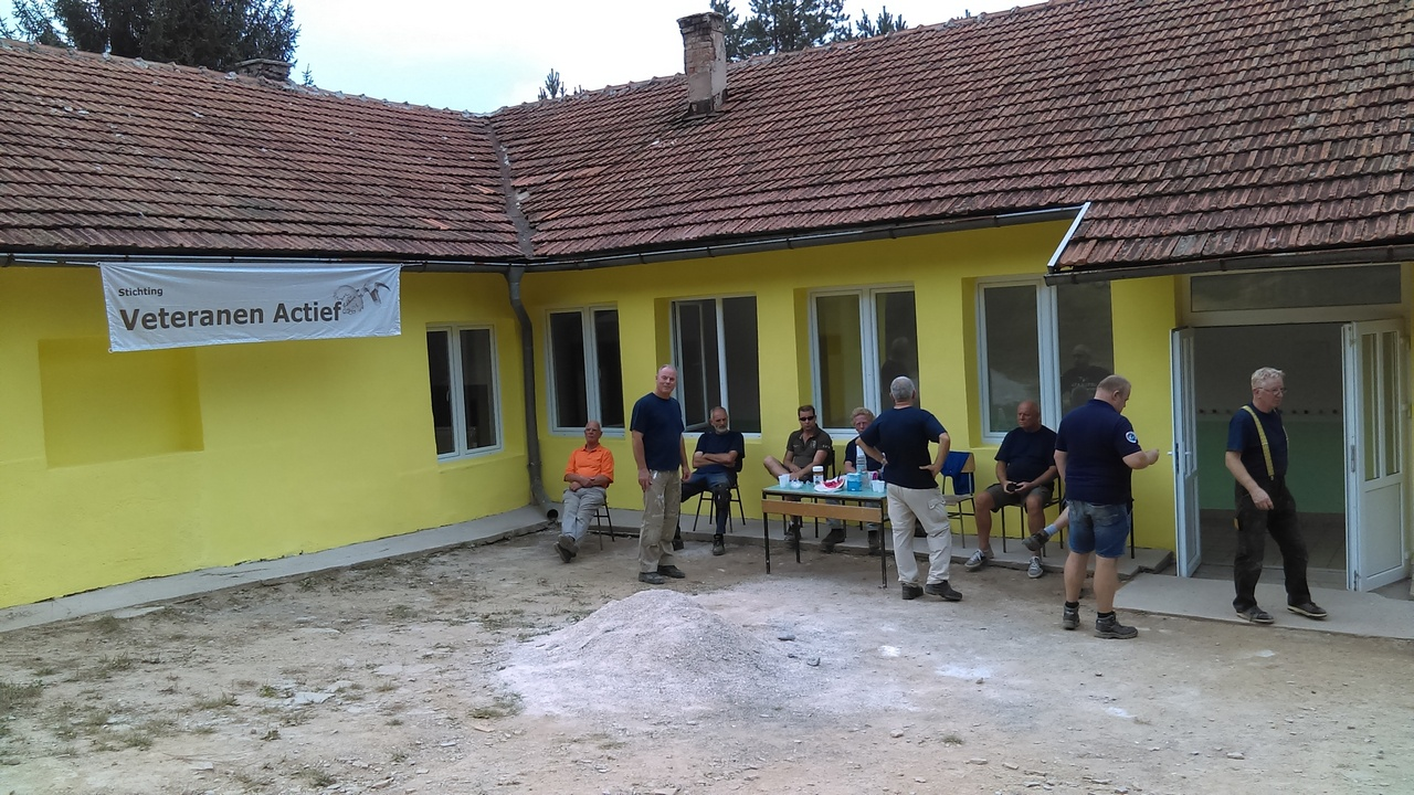 Stichting Veteranen Actief in Vlahović, Turbe