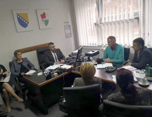 Sastanak GIZ, ALBA i REZ Agencije s Ministarstvom SBK/KSB