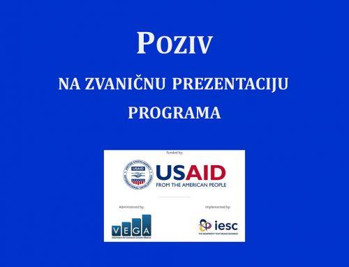 USAID WHAM – Poziv na zvaničnu prezentaciju