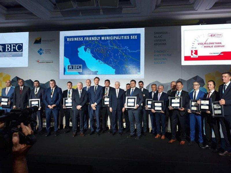 Svečana godišnja dodjela BFC SEE certifikata, Budva