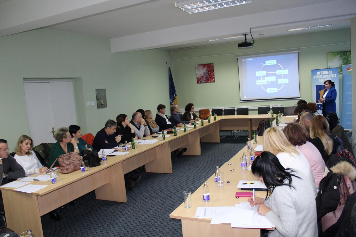 REZ Agencija - PCM seminar Travnik