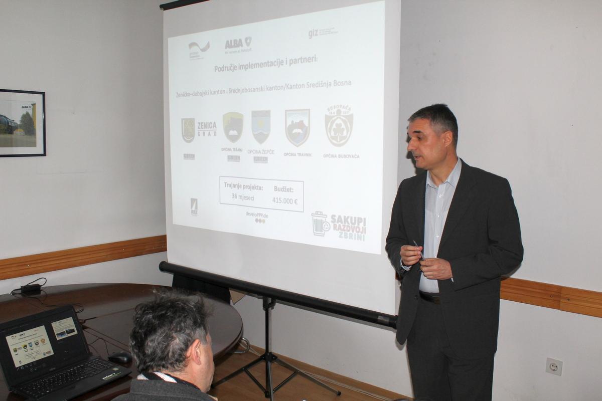 Konferencija za medije u ALBA Zenica